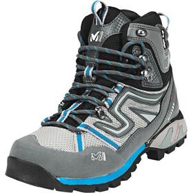 Millet High Route Hiking Shoes Mesh Dam aqua/dark grey